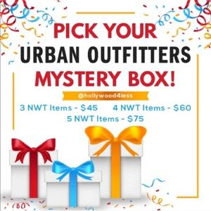 NWT Urban Outfitters Mystery Box - All Brand New
